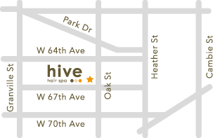 hive hair spa Oak Street